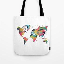 world map 3 Tote Bag