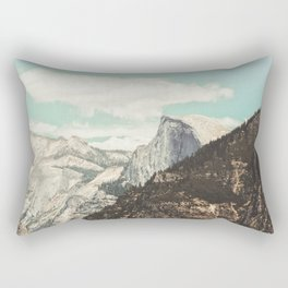 Half Dome Peek Rectangular Pillow