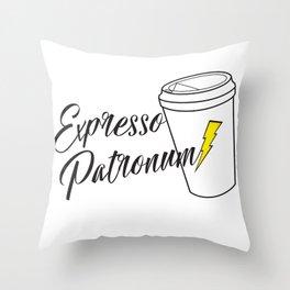 Expresso Patronum Throw Pillow