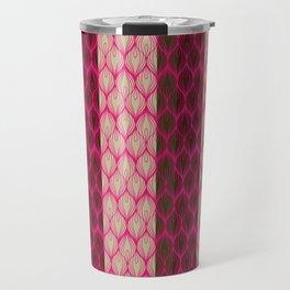 Peacocks Wear Pink Travel Mug