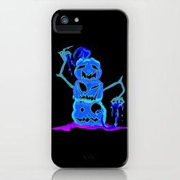 Pumpkin stack iPhone Case