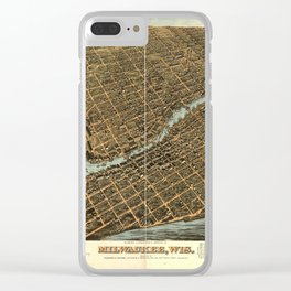 Milwaukee 1872 Clear iPhone Case