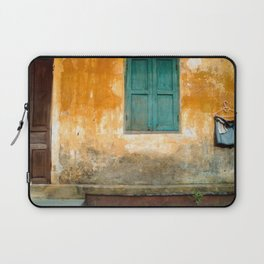 Antique Chinese Wall of Hoi An Laptop Sleeve