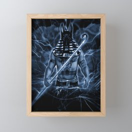 ANUBIS Framed Mini Art Print
