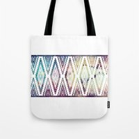 diamonds Tote Bags featuring Diamonds by Last Call