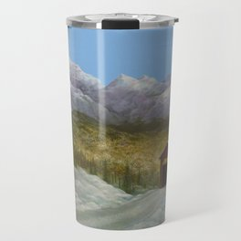 Over the River and Into the Valley Travel Mug