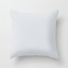 U13: grey droplet Throw Pillow