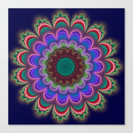 Floral Splendor Canvas Print