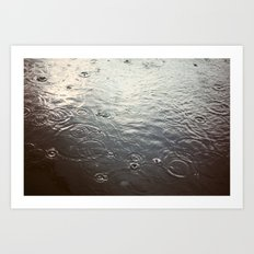 Raindrop #1 Art Print