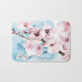 Chery blossoms Bath Mat