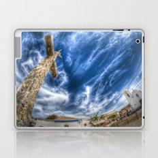 Fish eye crucifix  Laptop & iPad Skin