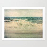 salt water Art Prints featuring Salt Water Cures by V. Sanderson / Chickens in the Trees