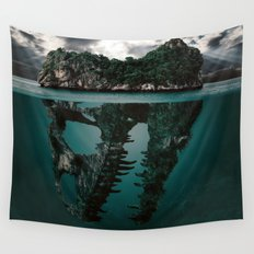 Mystere island Wall Tapestry