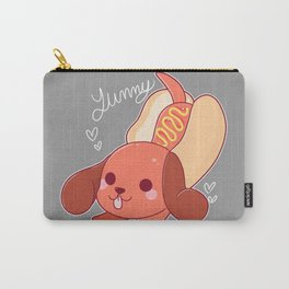 Yummy Hot Dog Carry-All Pouch