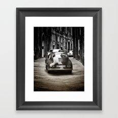 Vintage Porsche Framed Art Print