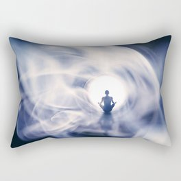 Out Of This World Meditation Rectangular Pillow