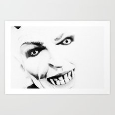 italy - naples - traditional mask_16 Art Print