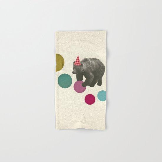 Birthday Bear Hand & Bath Towel