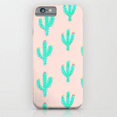 Cactus Print Slim Case iPhone 6