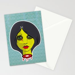 Lady death Stationery Cards