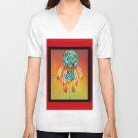 dreamcatcher V-neck T-shirts featuring Dreamcatcher by Joe Ganech