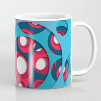 vertigo Mugs featuring Vertigo by Azarias