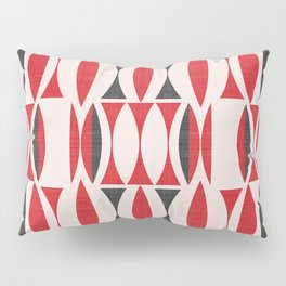 Seventies in Cherry Red (little) Pillow Sham
