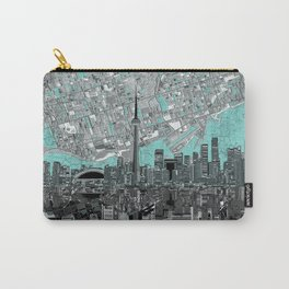 toronto city skyline Carry-All Pouch