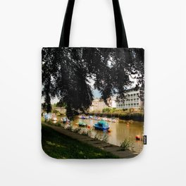 The Shaded Tree in Totnes Tote Bag