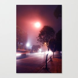 Nighttime Drive-By Canvas Print