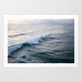 Surfin' USA Art Print