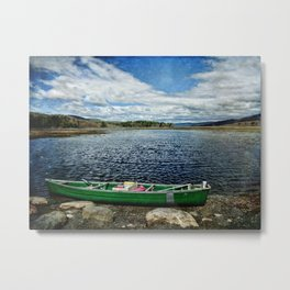 Only Time on the Bashakill Metal Print