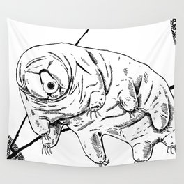 Water Bear Wall Tapestry