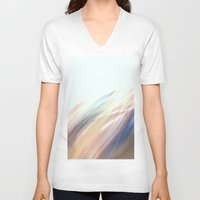 the strokes V-neck T-shirts featuring Strokes by Argi Univrs