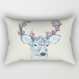 Christmas Deer - Forest animals series Rectangular Pillow