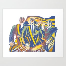 Business Revolution Art Print