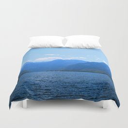 Koenigssee Lake with Alpes Mountains 2 Duvet Cover