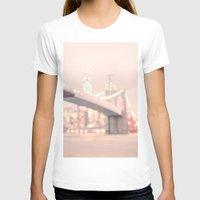 brooklyn bridge T-shirts featuring Brooklyn Bridge by Vivienne Gucwa