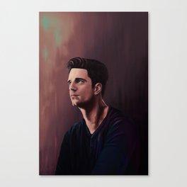 Sebastian Stan Canvas Print