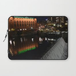 Mooned Abysses of Night Laptop Sleeve