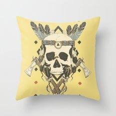 DEAD INJUN Throw Pillow