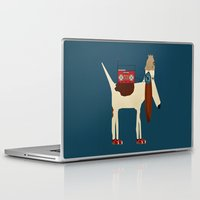 aelwen Laptop & iPad Skins featuring bootleg beagle  by bri.buckley