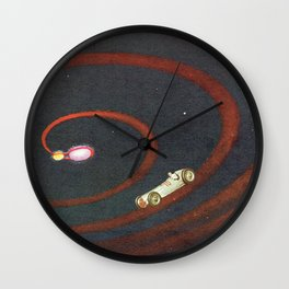 NOT SLOWING DOWN Wall Clock