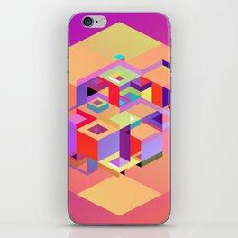 Cubic Inversion I iPhone Skin
