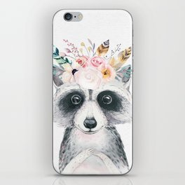Forest Raccoon by Nature Magick iPhone Skin