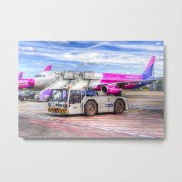 Wizz Air Airbus A321 Metal Print