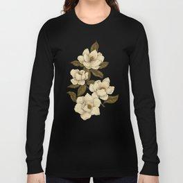 Magnolias Langarmshirt
