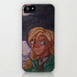 Moon Mage iPhone Case
