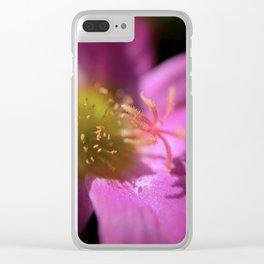 Portulaca Clear iPhone Case