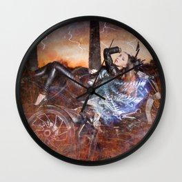 Hells Angel Wall Clock